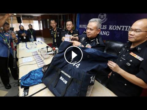 Image result for MELARIKAN wang tunai sebanyak RM600,000 dan menyimpannya di dalam bilik sebuah hotel