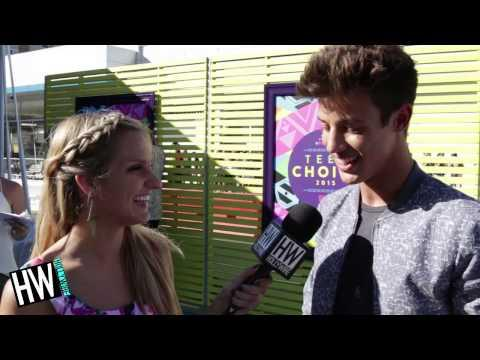 Cameron Dallas Talks New Movie 'The Outfield' & Screaming Fans!