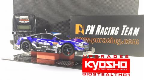 KYOSHO UPGRADES PART 3 MINI-Z MR-03 NO.49 RAYBRIG NSX CONCEPT-GT