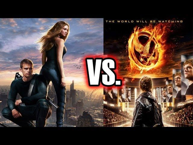 Divergent & Hunger Games VS. Star Wars & Star Trek