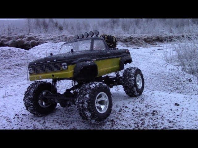 RC TRAIL FORD F100 SNOW & ICE EXPEDITION