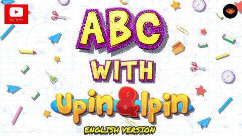 ABC with Upin & Ipin [English Version] [HD]