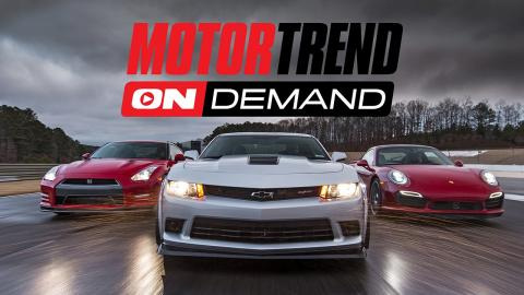 Motor Trend OnDemand! Drive It. Race It. Live It.