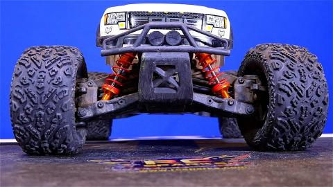 RC ADVENTURES - Suspension Upgrade, HPi SAVAGE XS FLUX Mini Monster Truck 4x4