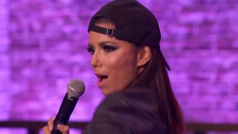 Eva Longoria Gets Low To Flo Rida On Lip Sync Battle!