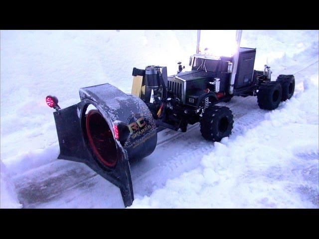 RC ADVENTURES - CRAZY RC SNOW BLOWER