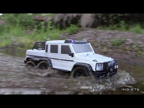 RC TRAIL 6X6 MERCEDES G63 AMG SWAMP EXPEDITION