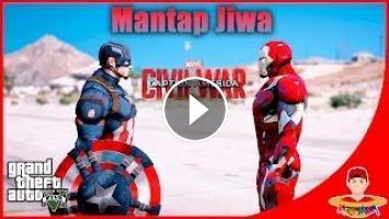 GTA V MOD (7) - Civil War Captain America VS Iron Man
