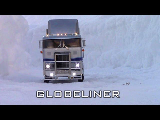 RC TRAIL GLOBELINER ICEROAD TRUCKERS EXPEDITION