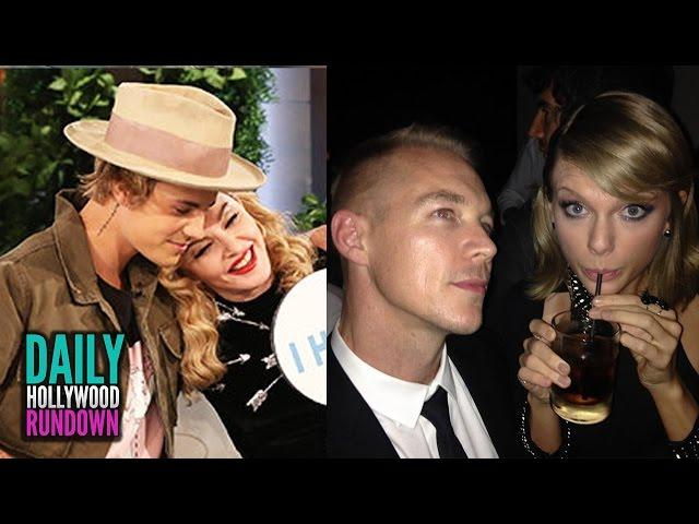 Justin Bieber Plays Sex Game With Madonna - Diplo Disses Taylor Swift Fans (DHR)