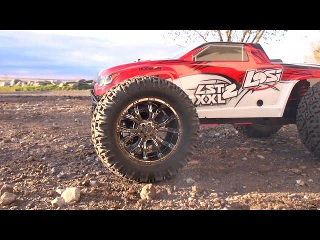 RC ADVENTURES - Tuning & Second Run of my Gas Powered Losi LST XXL2 1/8th Scale Monster Truck
